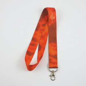 Lanyard - 25 mm - orange